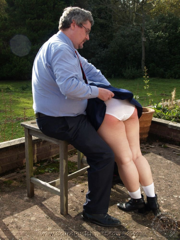 Bare bottom punishment with a switch 4