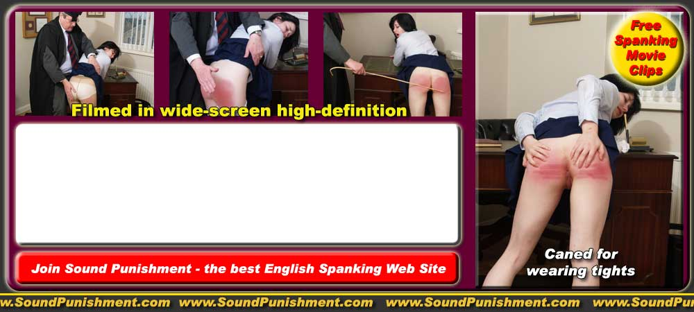 spanked for the very first time
