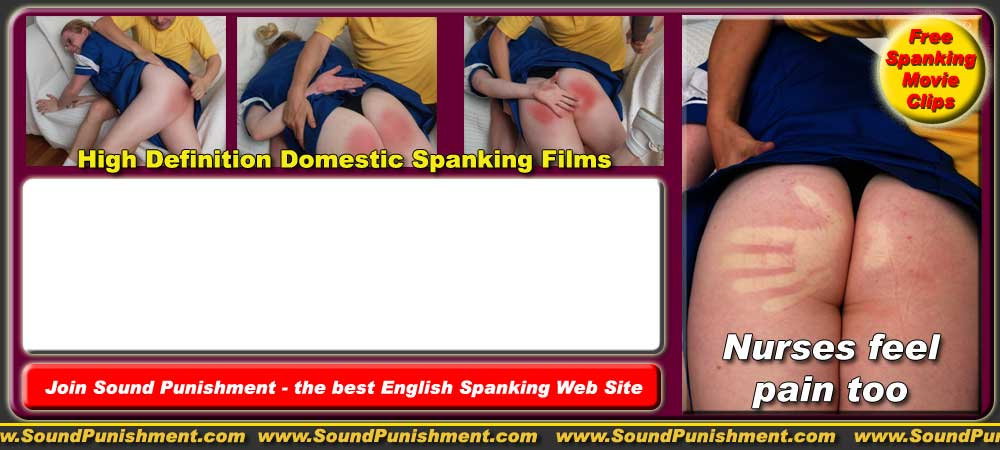 Chloe Rogers spanked and slippered