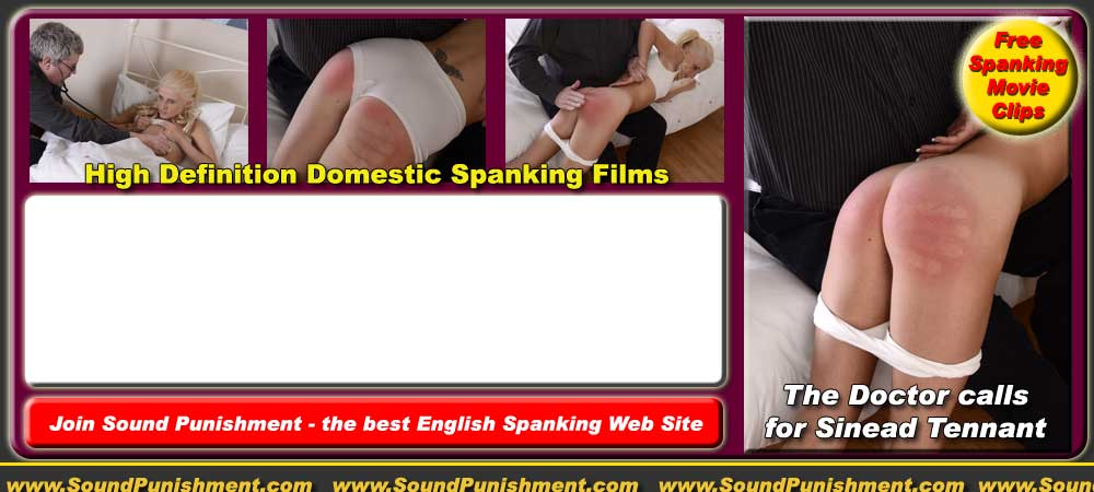 Lacey Bottomley visist the spanking therapist