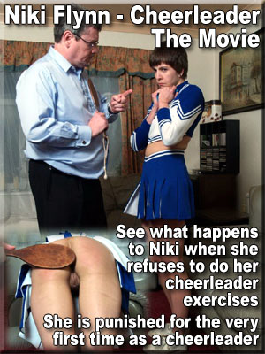 niki flynn spanked as a cheerleader movie
