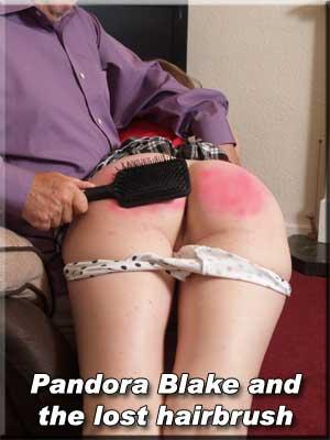 Pandora hairbrush spanking